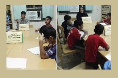 برگزاری نشست کارگروه مطالعاتی کودک و نوجوان در کتابخانه علامه طباطبائی بندرعباس