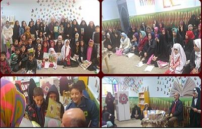 جشن امضا، شعرخوانی و قصه گویی با حضور کودکان و نوجوانان در قم