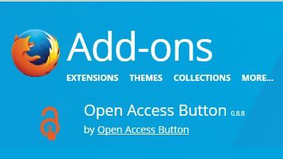 افزونهای برای یافتن نسخه دسترسی آزاد مقالات
