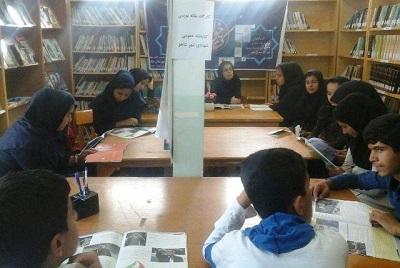 برگزاری کلاس مقالهنویسی ویژه دانش آموزان در شاهو روانسر
