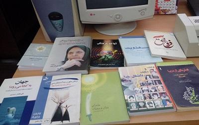 اهدای 570 جلد کتاب به کتابخانه عمومی پیامبراعظم (ص) درجزین سمنان