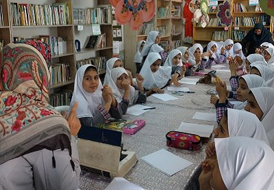 «کتابخانه مشارکتی خورشید کتاب (۱)»؛ قلب تپنده مدرسه برای کودکان