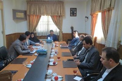 جلسه انجمن کتابخانههای عمومی سنقر و کلیایی کرمانشاه برگزار شد