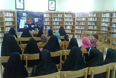 برگزاری نشست کتابخوان در کتابخانه شهدای روستای خیرآباد اراک