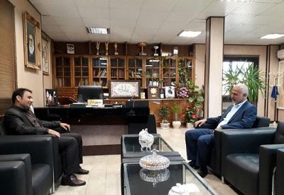 دیدار رئیس اداره کتابخانه های عمومی شهرستان اسلامشهر با سرپرست شهرداری