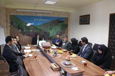 دیدار هیئت مدیره انجمن کتابداری و اطلاع رسانی مازندران با مدیرکل کتابخانه های عمومی استان