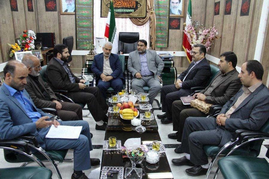 دیدار سرپرست استان مرکزی با فرماندار و نماینده مردم خمین در مجلس شورای اسلامی