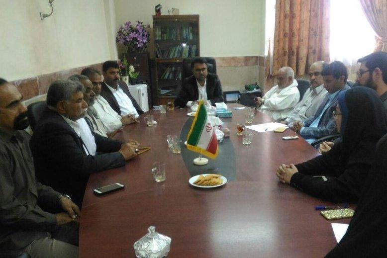 جلسه انجمن کتابخانههای عمومی دلگان سیستان و بلوچستان برگزار شد