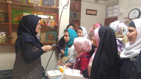 برنامههای منظم کتابخانه علامه رفیعی قزوین در راستای انس دانش آموزان با کتاب