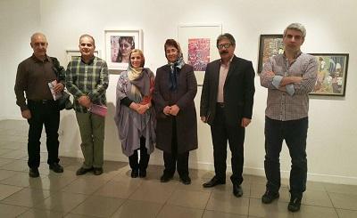 نمایشگاه نقاشی به یاد توران میرهادی + عکس