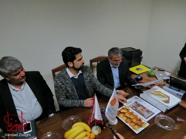 گزارش تصویری حضور مسئولان فرهنگی در تحریریه لیزنا در روز کتابگردی