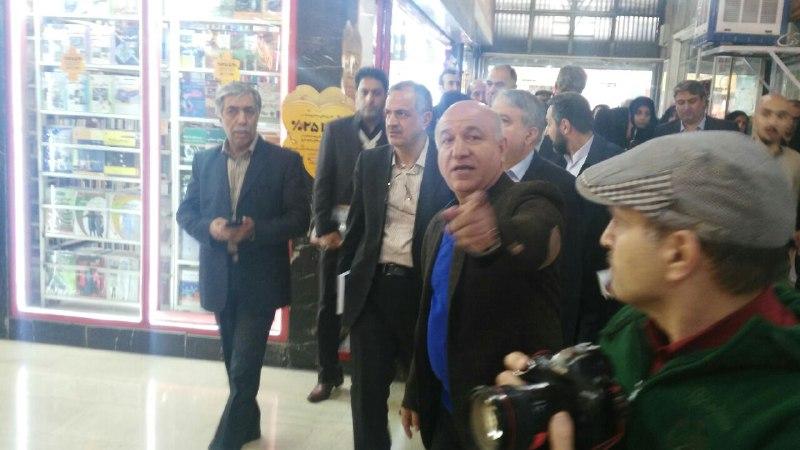 مسئولان فرهنگی با  کتابفروشی های راسته خیابان انقلاب دیدار تازه کردند