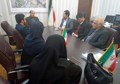 دیدار هیأت مدیره انجمن کتابداری خوزستان با مدیر کل امور فرهنگی و اجتماعی استانداری