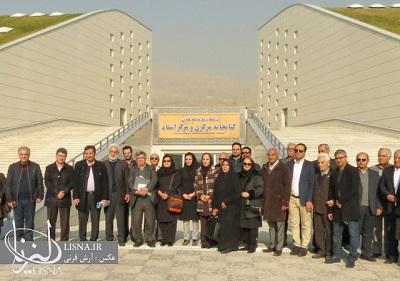 گزارش تصویری افتتاح ساختمان جدید کتابخانه دانشگاه علامه طباطبایی