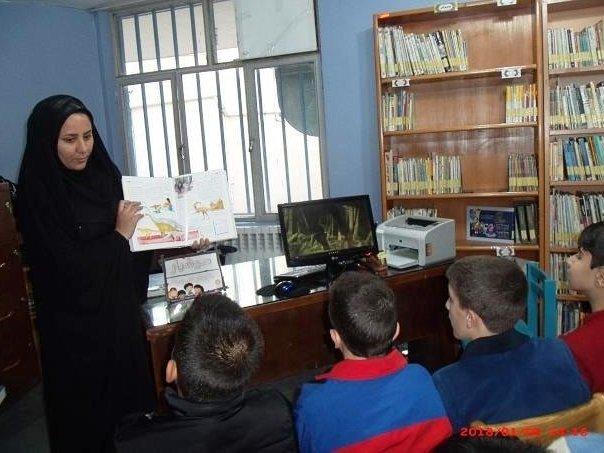 جمعخوانی «غروب خورشید در سامرا» در کتابخانه شهید مدرس بناب آذربایجان شرقی