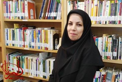 خدیجه صحرایی: کتابداری شغلی پر ذوق و شوق است