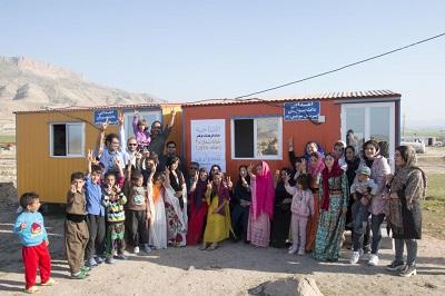 بازسازی روح کودکان زلزله زده با ایجاد خانه های فرهنگ