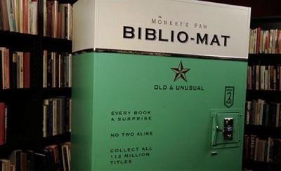 فروش کتاب های کم طرفدار با دستگاه کتابفروش
