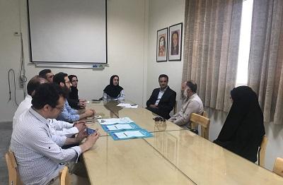 دیدار کتابداران زندان های تهران و گروه علم اطلاعات و دانش شناسی شهید بهشتی