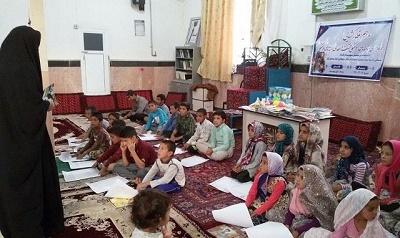 برگزاری برنامههای فرهنگی در روستای بیهود خراسان رضوی