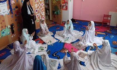 جشن «میهمانان ماه خدا» در کتابخانه فارابی هندیجان در استان خوزستان