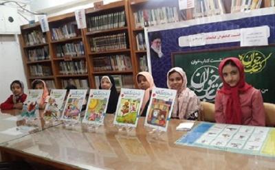 نشست کتاب خوان «رمضان، ضیافت الهی» در کتابخانه عمومی ابوذرغفاری شوش در خوزستان