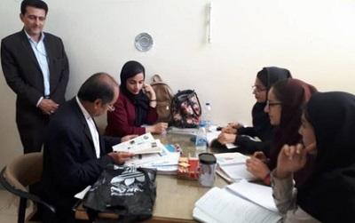 بازدید نماینده مردم مجلس از کتابخانه عمومی شهید مفتح ایذه خوزستان