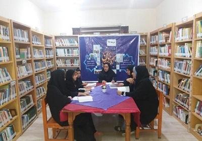 برگزاری نشست کتابخوان در کتابخانه دکترحسابی مورموری استان ایلام