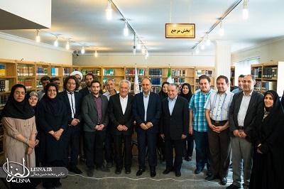 بازگشایی کتابخانه مرحوم حاج حسین عراقچی در تهران