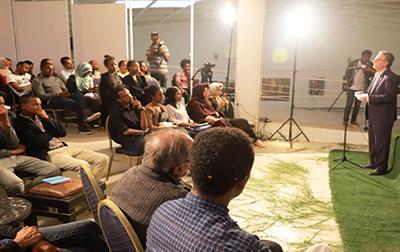 شب شعر ایران در اتیوپی برپا شد
