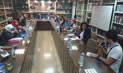 برگزاری نوزدهمین نشست دوستداران زبان فارسی در دمشق
