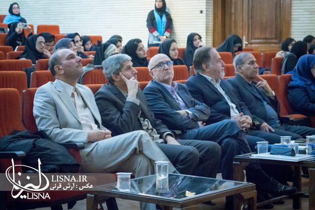 شبکه های دانش در دانشگاه الزهرا  به هم متصل شدند + عکس