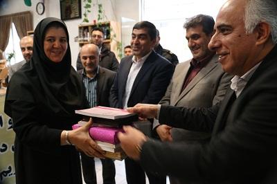آیین افتتاحیه جشنواره اهدای کتاب استان البرز برگزار شد