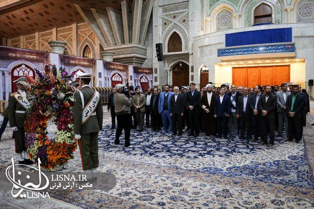 گزارش تصویری  تجدید میثاق مدیران و کتابداران نهاد کتابخانهها با آرمانهای امام خمینی