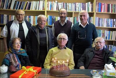 جشنی برای سالروز تولد ضیاء موحد در شهر کتاب