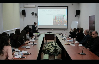 پایگاه استنادی علوم جهان اسلام در جمهوری آذربایجان کارگاه آموزشی برگزار کرد