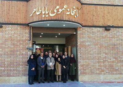 کتابخانه عمومی باباطاهر تهران بازگشایی شد +عکس