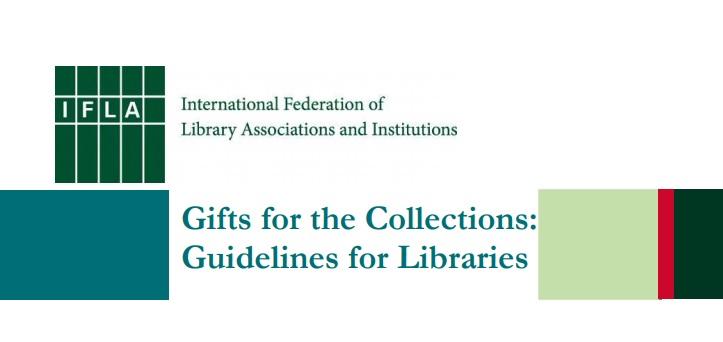 ایفلا راهنمای منابع اهدایی برای کتابخانه ها را منتشر کرد