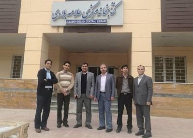 بازدید اعضای انجمن کتابداری شاخه فارس از دانشگاه ها و کتابخانه های بوشهر