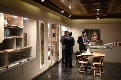 فروشگاه محصولات فرهنگی ملک افتتاح شد