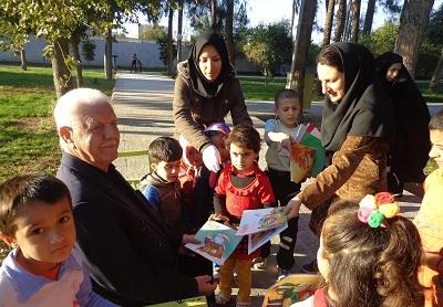 اعضای کودک کتابخانه شهید مدنی به اردو رفتند