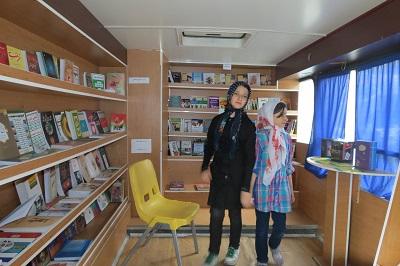 کتابهای تغذیه و سلامت پر مخاطب ترین کتابهای اتوبوس سیار