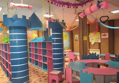 زیبا سازی بخش کودک کتابخانه جوادالائمه (ع) شهرستان قدس
