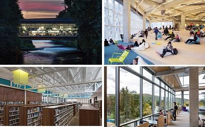 زیباترین کتابخانههای سال 2016 + عکس
