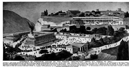 جنگ های باستانی بر سر کتابخانه / پرگاموم رقیب سرسخت اسکندریه