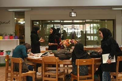 استقبال دانشجویان از روز کتابخانههای دانشگاه شهیدبهشتی