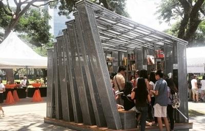 «Book Stop» کوچکترین کتابخانه دنیا +عکس