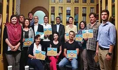 پایان دوره های آموزش زبان فارسی رایزنی فرهنگی ایران در بلغارستان
