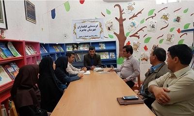 نشست هم اندیشی کتابداران جاجرمی با مدیرکل کتابخانه های عمومی خراسان شمالی