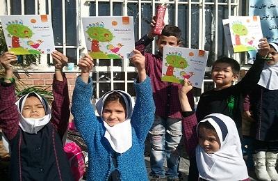 اهدای کتاب به مدارس  مناطق روستایی اسلامشهر